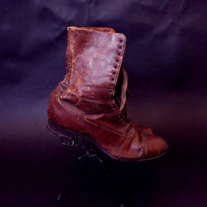 1920s Modified Educator Boots Rice & Hutchins Shoe